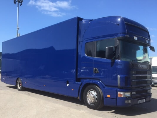 Scania Removal Lorry