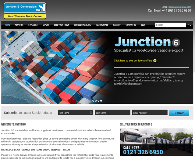 Junction 6 New Website