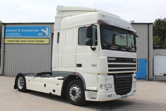 Daf FT XF105.410 Spacecab 4x2 Low Height Tractor Unit CX59 OUO 001