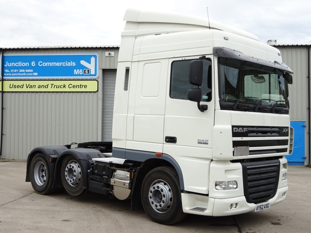 Daf FTG XF105.460 Spacecab 6x2 Tractor Unit AY62 AXG 001