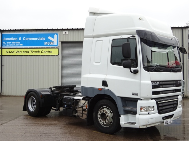 DAF FT CF85.460 Spacecab 4x2 Tractor Unit BX10 AAK 001