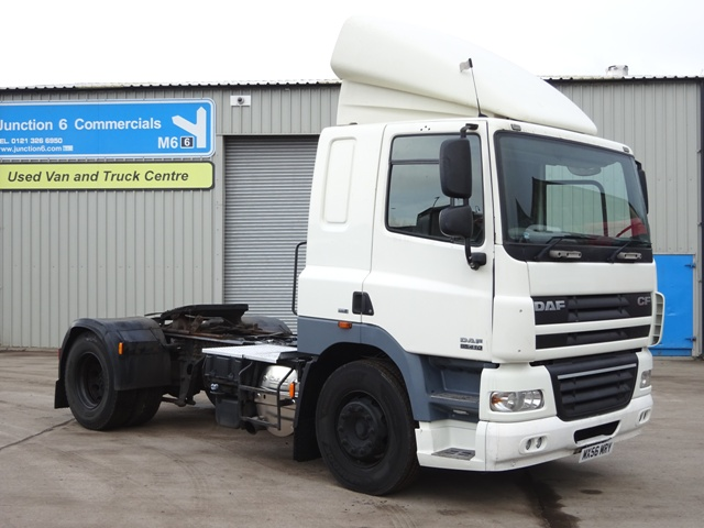 Daf FT CF85.410 4x2 Tractor Unit MX56 MRY 001