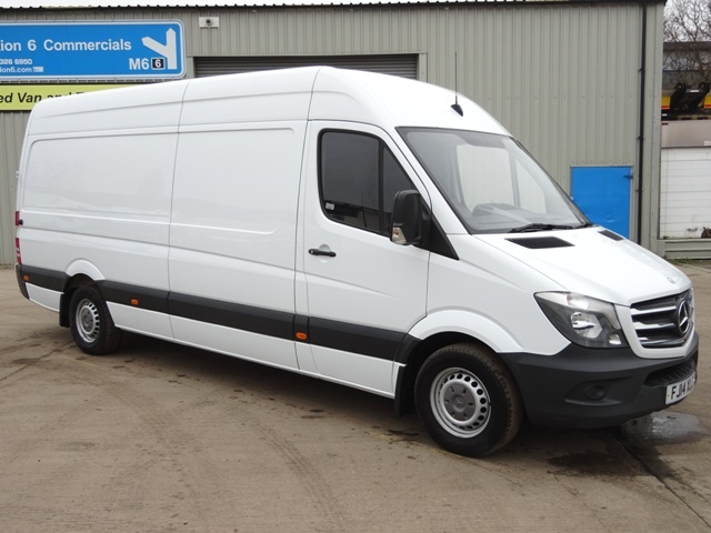 Mercedes Sprinter 313Cdi Long Wheelbase Panel Van FJ14 XLC 001