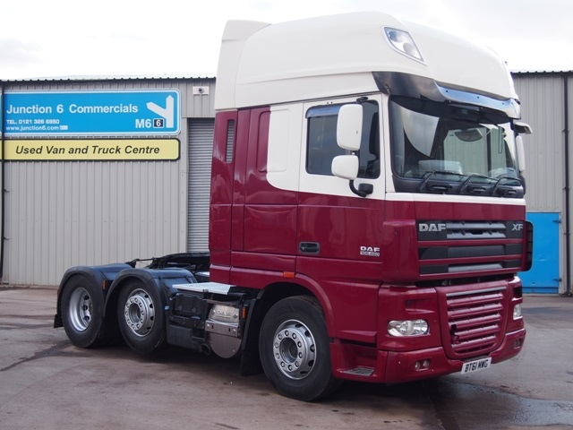 Daf FTG XF105.460 SuperSpace Cab 6x2 Tractor Unit BT61 MWG