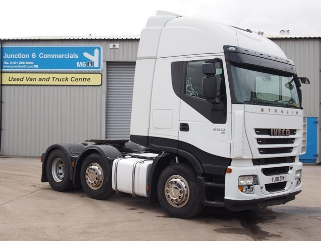 Iveco Stralis 450 6x2 Tractor Unit YJ08 ZVM 001