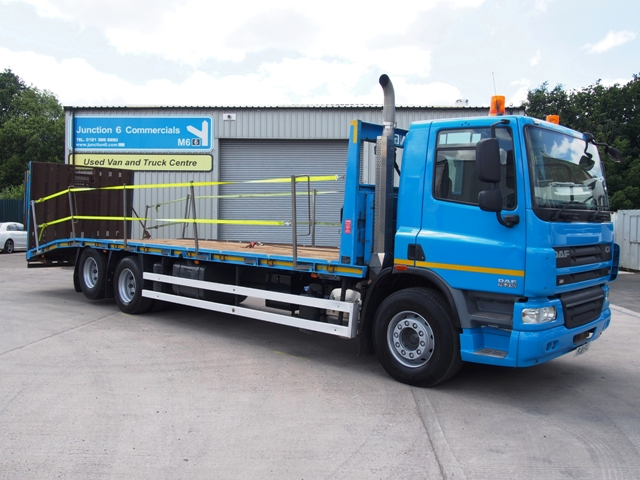 DAF FAS CF75.310 32 Foot 3ins Beavertail PJ11 FVC 003.JPG