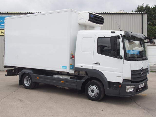 Mercedes Atego 818 Sleeper 14 Foot 2ins Fridge BN17 FCL 001
