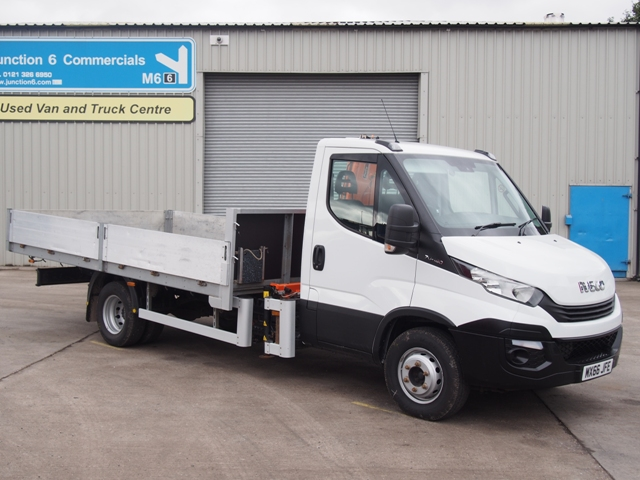 Iveco Daily 70 180 14 Foot Dropside MX66 JFE 001.JPG