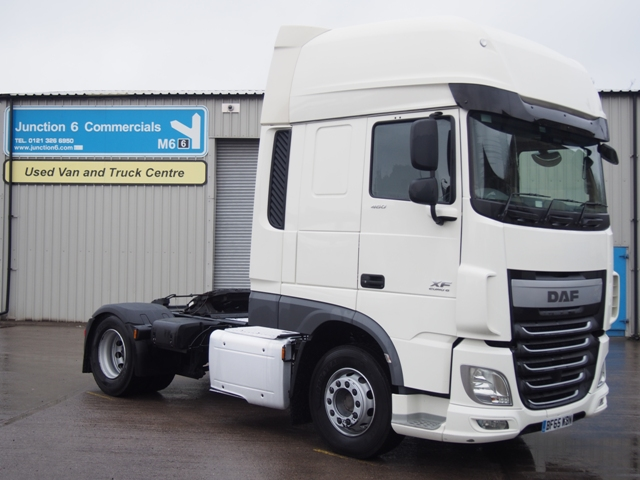 DAF FT XF460 SuperSpace 4x2 Tractor Unit BF65 WBN 001.JPG