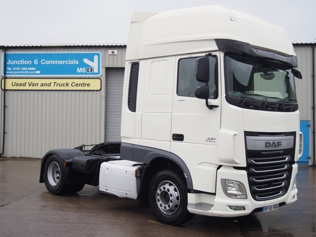 DAF FT XF460 SuperSpace 4x2 Tractor Unit BF65 WBO 001.JPG